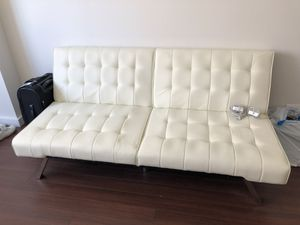 Leather Futon for Sale in New York, NY