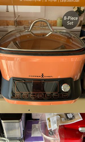 Copper chef slow cook pan for Sale in Chula Vista, CA