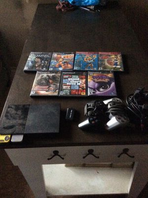 PlayStation 2 with HDMI and several games for Sale in Glen Burnie, MD