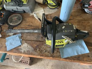 "RYOBI 16"" chainsaw 38cc for Sale in Haymarket, VA"