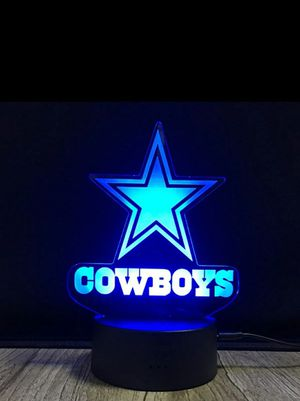 Dallas Cowboys NFL Logo Light for Sale in Voorhees Township, NJ