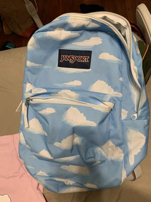 JANSPORT CLOUDS BACKPACK for Sale in St. Louis, MO