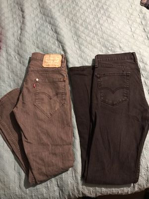 Levi strauss & co. Mens jeans for Sale in Dade City, FL