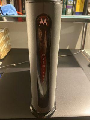 Motorola wifi/Modem for Sale in Murray, UT