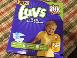 Luvs Pampers for Sale in Pomona, CA