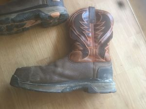 Ariat work boots for Sale in Walker, LA