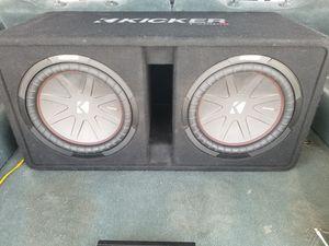 "12"" kicker comp R subwoofers for Sale in Denver, CO"