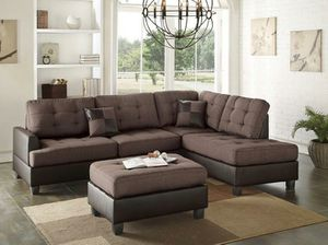 Sectional with Ottoman 🚚💨 for Sale in Fort Lauderdale, FL