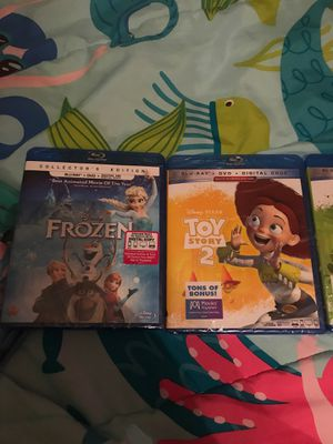 Brand new Disney blu-ray DVD's $10 each or 2 for $15 for Sale in Houston, TX