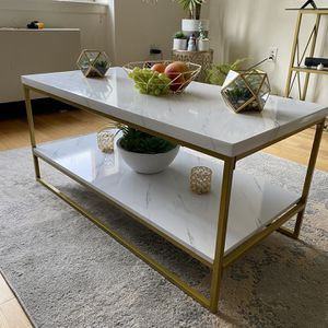 White and Gold Living room Table for Sale in New Rochelle, NY