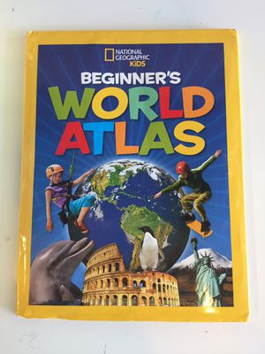 World Atlas Book for kids for Sale in Freeburg, MO