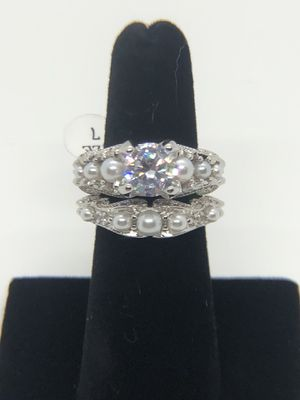 Sterling silver ring set for Sale in Olympia, WA