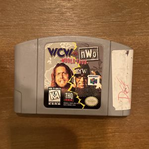 Nintendo N64 Wcw Vs Nwo for Sale in Tulare, CA