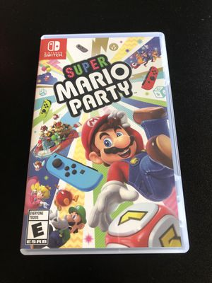 Super Mario party for Nintendo switch for Sale in Round Rock, TX