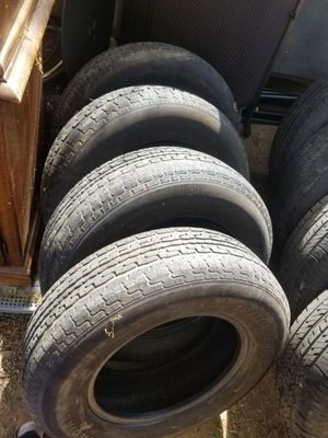 Trailer tire..st205 75 r 15..used.. for Sale in Hemet, CA