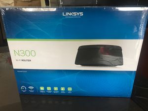 Linksys N300 WiFi Router for Sale in Helotes, TX