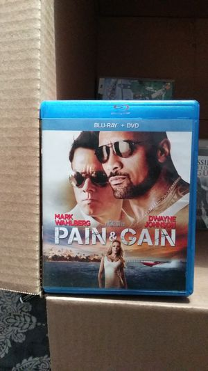 Pain and Gain Bluray for Sale in Chandler, AZ