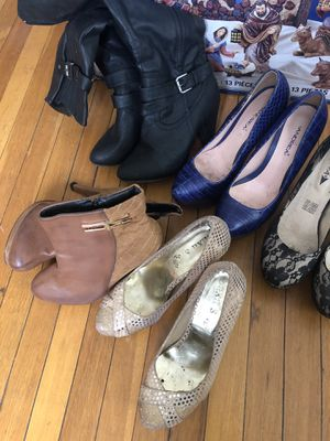 Woman high heels and shoes for Sale in Richmond, CA