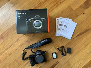 Sony A7 II mirrorless camera body for Sale in Elizabeth, NJ