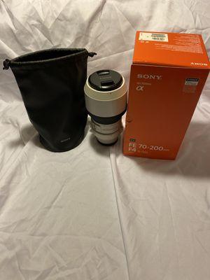 Sony 70-200mm F4 G e mount lens for Sale in Phoenix, AZ