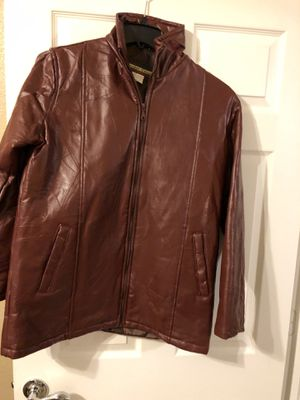 Leather jacket size large for Sale in FL, US