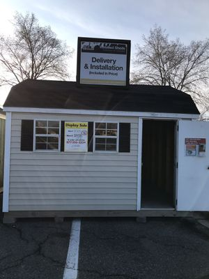 Shed displays as-is delivery included for Sale in Frederick, MD
