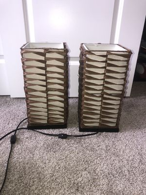 2 lamps for Sale in Lacey, WA