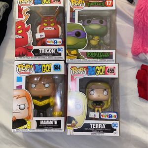 Donatello And Teen Titans For Sale (price Is Negotiable) for Sale in Armonk, NY
