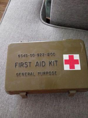 Army First Aid Kit for Sale in San Bernardino, CA