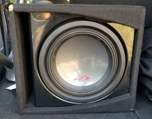 """Kicker ZX400.1 Mono subwoofer ampand Enclosed Alpine R-W12D4 R-Series 12"""" sub for Sale in Pittsburgh, PA"""
