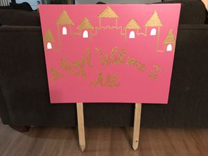 Custom Made Baby Shower Yard Sign for Sale in San Antonio, TX