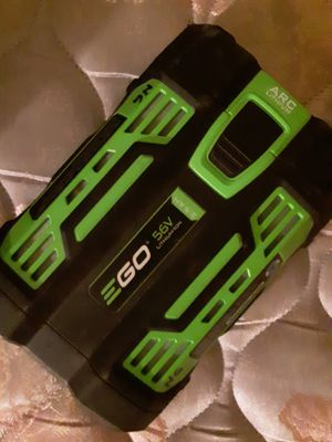 Ego power+ battery for power tools for Sale in Tucson, AZ