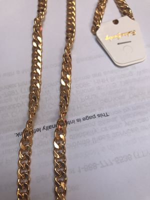 Gold filled chain 24 for Sale in Falls Church, VA