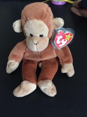 New Beanie Baby Monkey $5.00 for Sale in Kent, WA