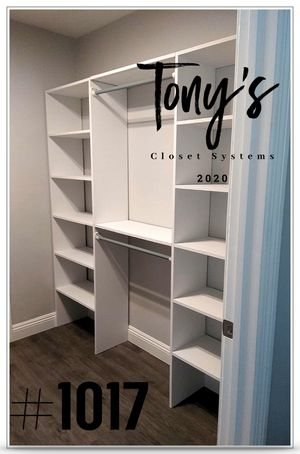 Closet System FREE INSTALLATION for Sale in West Covina, CA