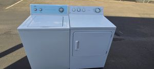 Roper Washer and Ge electric dryer(can deliver for free up to 15 miles(small fee for gas if over 15 miles for Sale in Auburn, WA
