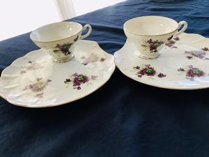 2 beautiful vintage snack sets $12 for both for Sale in Anaheim, CA