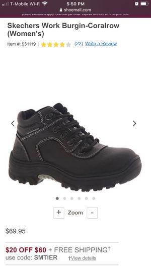 Skechers women's work boots 8.5 $50 for Sale in Denver, CO