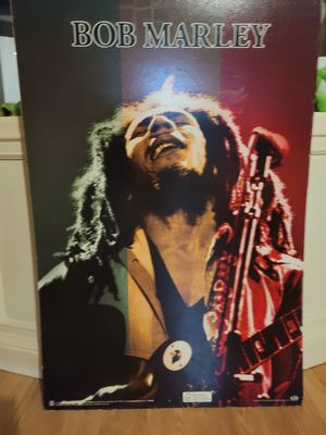 BOB MARLEY POSTER for Sale in Gibsonton, FL
