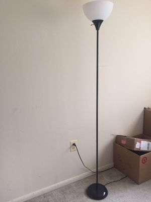 Black Floor Lamp for Sale in Rockville, MD