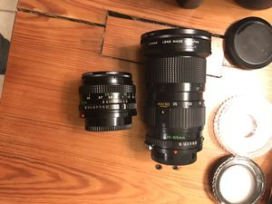 Canon AE-1, speedlite 188A and FD zoom lense 35-105mm for Sale in Severna Park, MD
