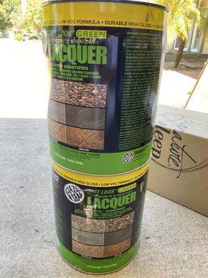 Lacquer for concrete and masonry (never opened) for Sale in Arcadia, CA