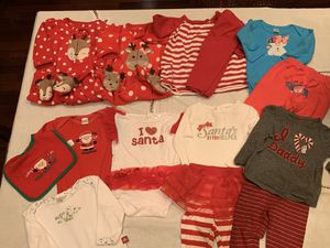 Baby girl clothes Christmas for Sale in Midlothian, TX