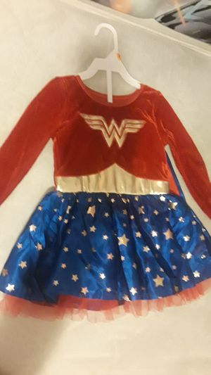Wonder woman costume for babys size 2t for Sale in Wichita, KS