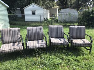 Patio chair lawn chair for Sale in Lakeland, FL