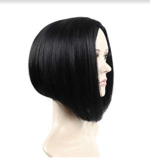 Short Straight Hair Bob Wigs Cosplay Party Wig for Women Black Heat Resistant Wig for Sale in Rancho Cucamonga, CA