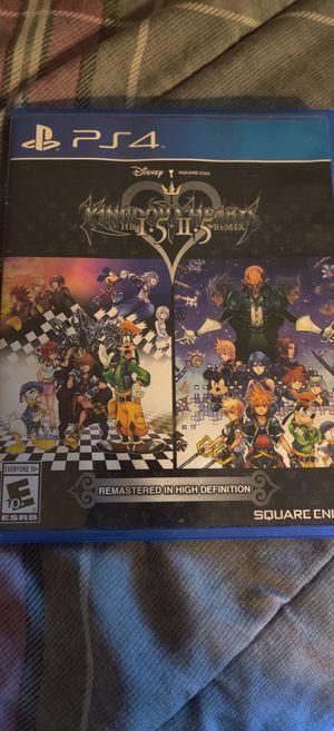 Kingdom hearts 1.5&2.5 Remix -PS4 for Sale in Auburn, WA
