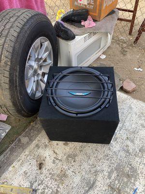15 sub & 1200w amp for Sale in San Diego, CA
