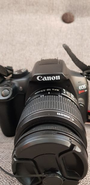 Excellent condition Canon Rebel T6 camera with accessories for Sale in Chicago, IL