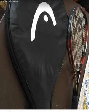 Head Constant Beam Guga Tennis Racket with case for Sale in MONTE VISTA, CA